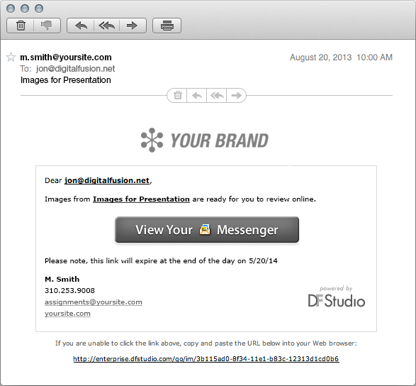 messenger-email