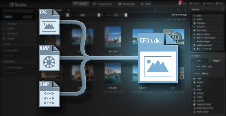 Advanced Metadata Technology from DF Studio