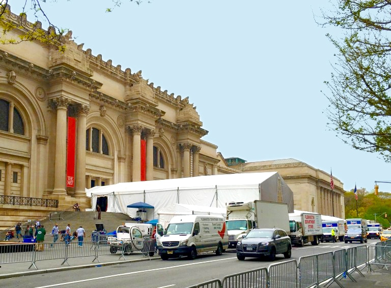 Behind the Scenes: DF Studio at the Met Gala