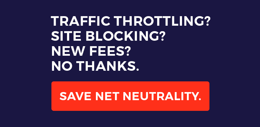 DF Studio Supports Net Neutrality